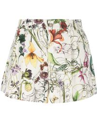 Gucci Floral Shorts floral - Lyst