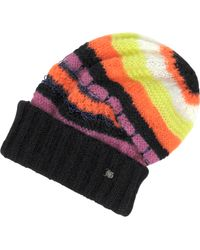 John Galliano - Striped Wool Hat - Lyst