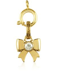 Juicy Couture Bow Charm - Lyst