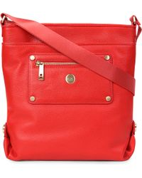 Knomo Red Shoulder Bag 54