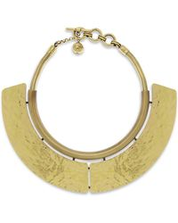 Lanvin - Oracle Hammered Choker - Lyst
