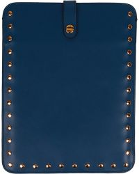 Marni Studded Leather Ipad Case - Lyst