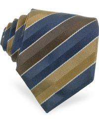 Moreschi | Regimental Woven Silk Tie | Lyst