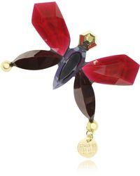 Patrizia Pepe - Butterfly Astro Ruby Brooch - Lyst