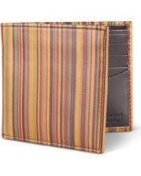 Paul Smith Vintage Striped Billfold Wallet - For Men - Lyst