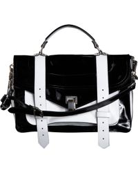 Proenza Schouler Ps1 Medium Patent Leather - Lyst