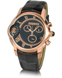 shop men s roberto cavalli watches from 350 lyst roberto cavalli caracter men s dual time chronograph watch lyst