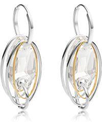Swarovski - High Tide Earrings - Lyst