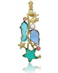 Tagliamonte - Marina Collection - Tourmaline & 18k Gold Pendant - Lyst