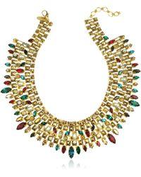 Erickson Beamon - Matador Goldplated Crystal Necklace - Lyst