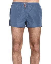 Gucci Swimwear Nylon Boxer blue - Lyst
