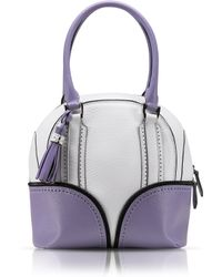 Pineider - 1774 Limited Edition Mini Bowling Leather Bag - Lyst