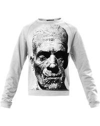 Christopher Kane The Mummy Print Sweatshirt gray - Lyst