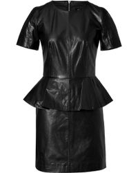 McQ by Alexander McQueen Leather Dress - Lyst