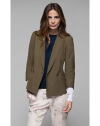 Theory Bastian Stretch Cotton Jacket - Lyst