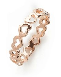 BaubleBar Eternity Heart Ring - Lyst