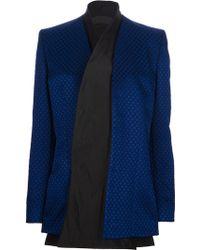 Haider Ackermann Textured Jacket - Lyst