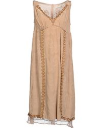 Odd Molly Beige Short Dresses - Lyst