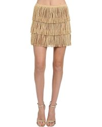 Thayer Fringe Mini Skirt - Lyst