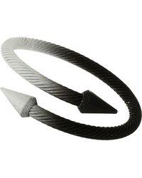 TOPMAN - Tonal Point Bracelet - Lyst