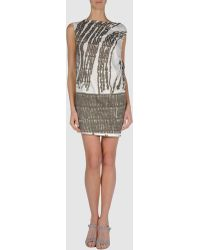 Edun Short Dress - Lyst