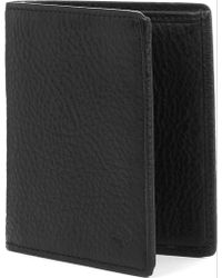 Mulberry Mini Trifold Naturalleather Wallet Black - Lyst