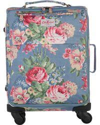 Cath Kidston - Print 4 Wheel Cabin Suitcase - Lyst