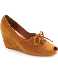Jeffrey Campbell Cinnamon Shoegar Wedge - Lyst
