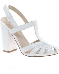 Asos Happy Days Heeled Sandals - Lyst