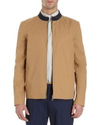 Basco Contrast Collar Jacket - Lyst