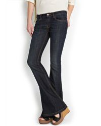 Mango Flared Jeans - Lyst