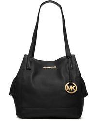 Michael Kors Large Ashbury Pebbled Grab Bag - Lyst