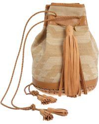 Wendy Nichol - Jacquard Bullet Bag - Lyst