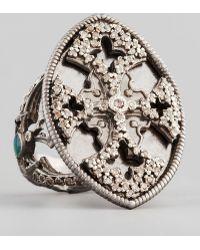Armenta - New World Maltese Cross Shield Ring - Lyst