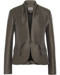 Maiyet Cotton blend Twill Blazer - Lyst