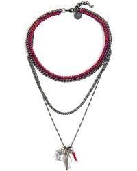 Venessa Arizaga - Into Dust Multichain Necklace - Lyst