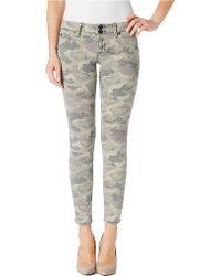 Hudson Collin Camo Skinny Jeans - Lyst