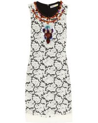 Clements Ribeiro - Deborah Pailletteembellished Lace Dress - Lyst