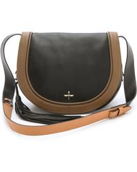 Pour La Victoire - Nina Leather Saddle Bag - Lyst