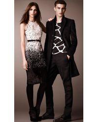 Burberry Prorsum - Animal Print Calfskin Dress - Lyst