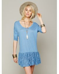 Free People Shifty Shift Tunic - Lyst