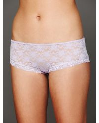 Free People Lacey Basic Hipster Brief - Lyst
