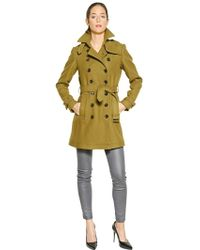 Burberry Brit | Crombrooke Double Breasted Wool Coat | Lyst