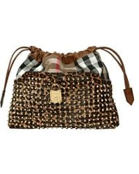 Burberry Prorsum - Small Studded Leopard Print Ponyskin Bag - Lyst