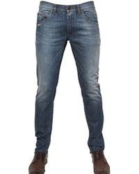 Dolce & Gabbana 17Cm Slim Fit Stretch Denim Jeans - Lyst