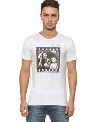 Dolce & Gabbana Monica Bellucci Cotton Jersey T-shirt - Lyst