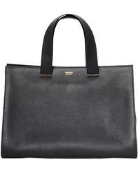 Giorgio Armani - Medium Charniere Doree Leather Bag - Lyst 9572a5bcd7