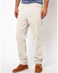 Levi's Levis Vintage Trousers 518 5 Pocket Twill Slim Fit - Lyst