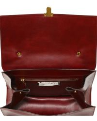 Marni - Faux Leather Satchel - Lyst