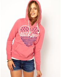 Hilfiger Denim - Hilfiger Denim Heart Hoodie - Lyst